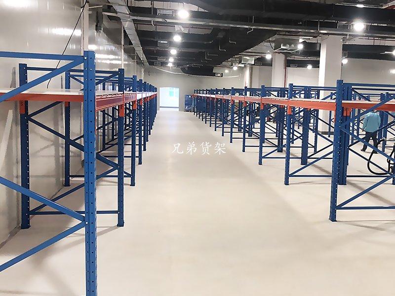 仓储重型货架蓝色