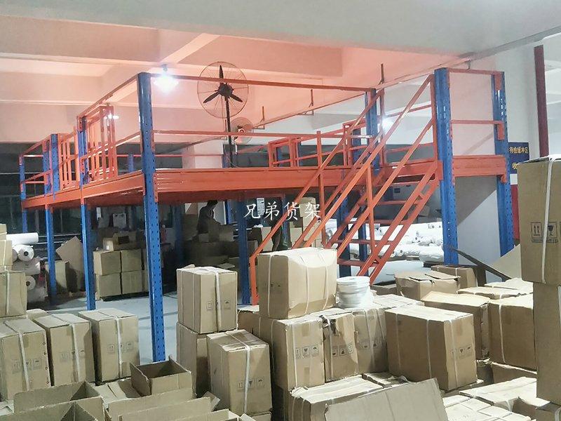 汽车4S店仓库安装阁楼货架成功案例