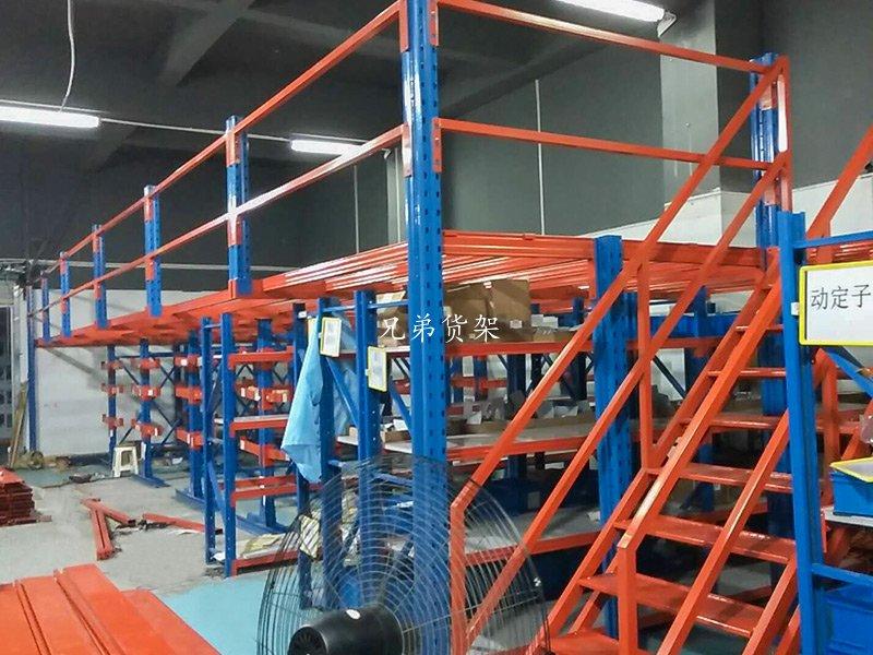 采用阁楼式货架的优点与作用,深圳货架厂家