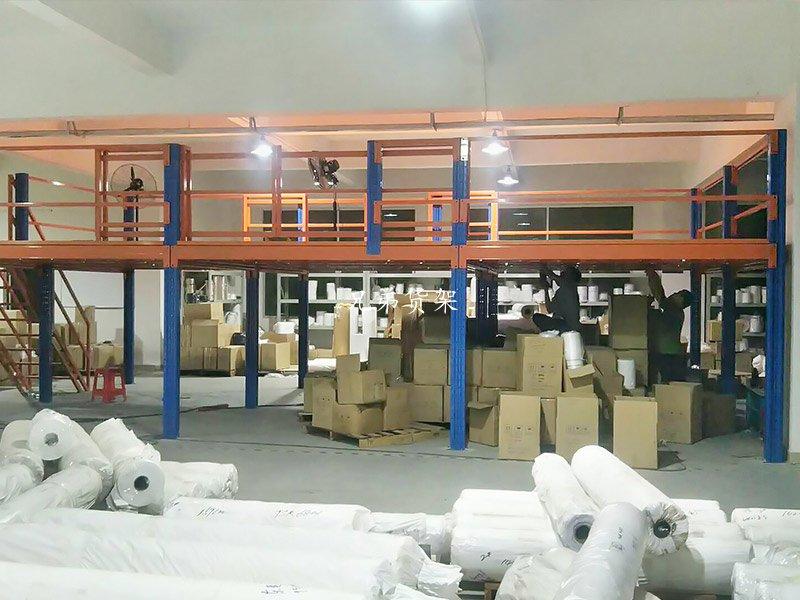 100%的仓储空间提升 阁楼货架就是这么魔性