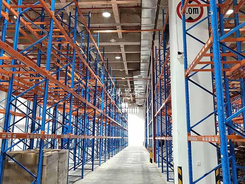 仓库高位重型货架-定制安装案例