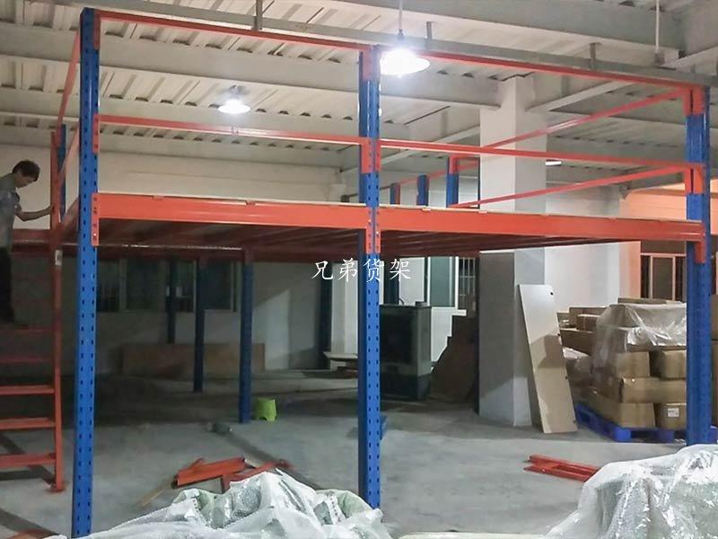 小型阁楼平台组装案例
