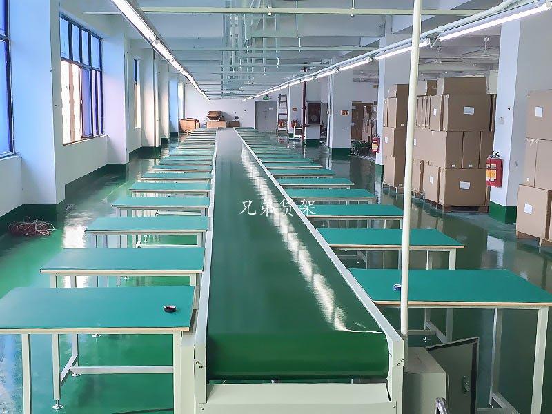 仓库流水线工作台组装电子工厂案例