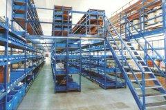 阁楼货架可能也非常适合办公室环境