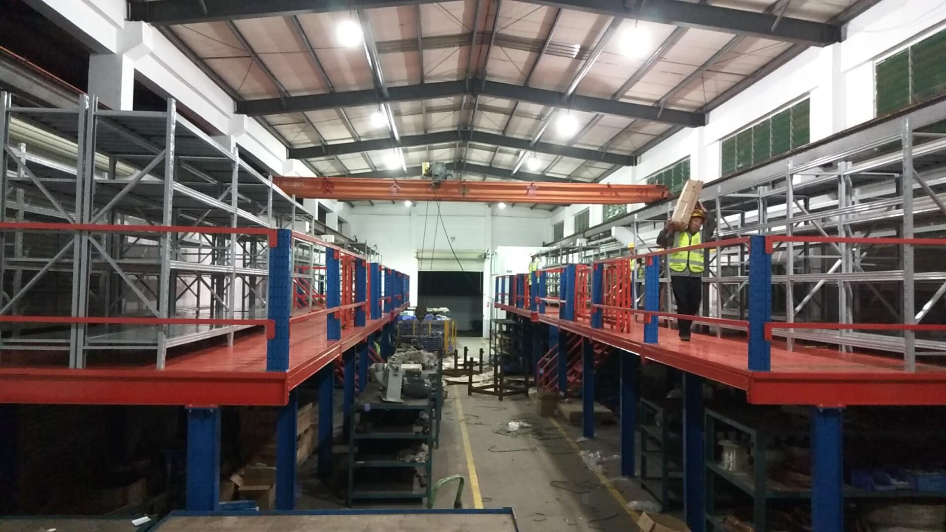 阁楼平台的设计--深圳货架厂